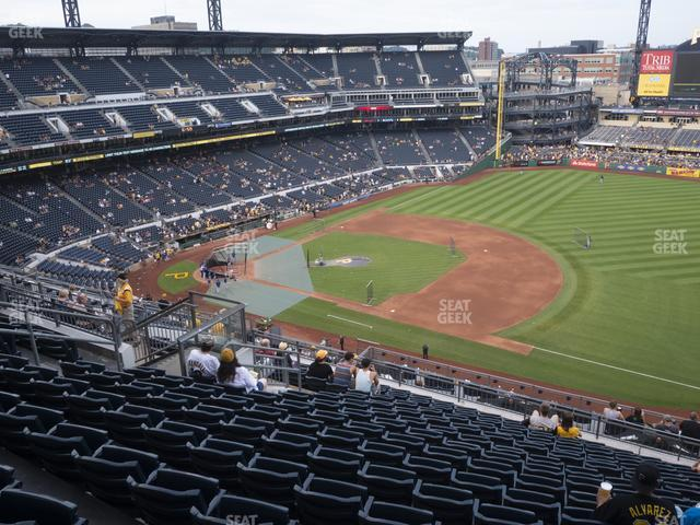 PNC Park Section 308 view