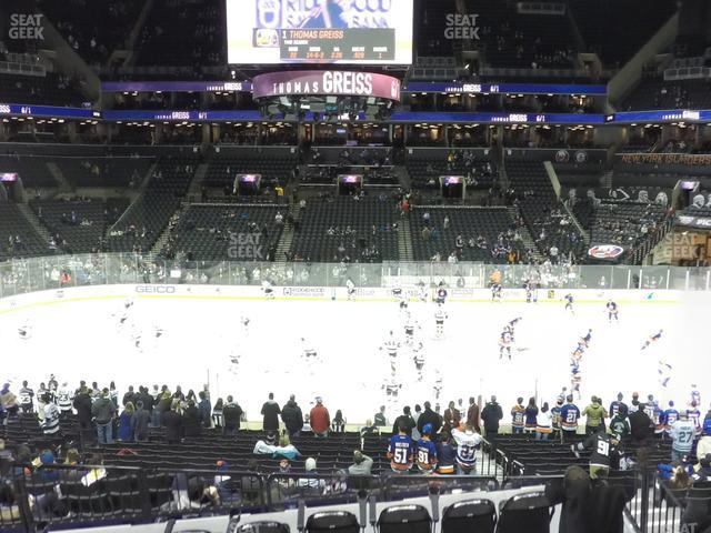 Barclays Center Section 108 view