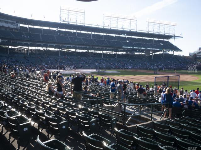 Wrigley Field Section 129 view
