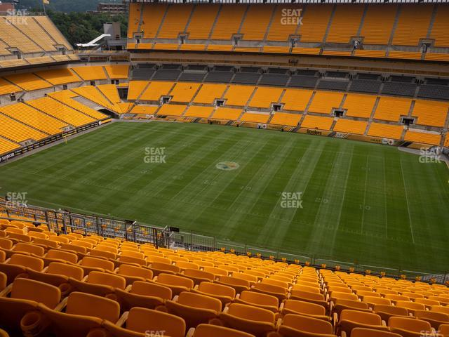 Heinz Field Section 537 view