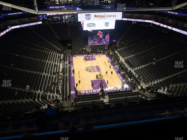 Golden 1 Center Section 212 view