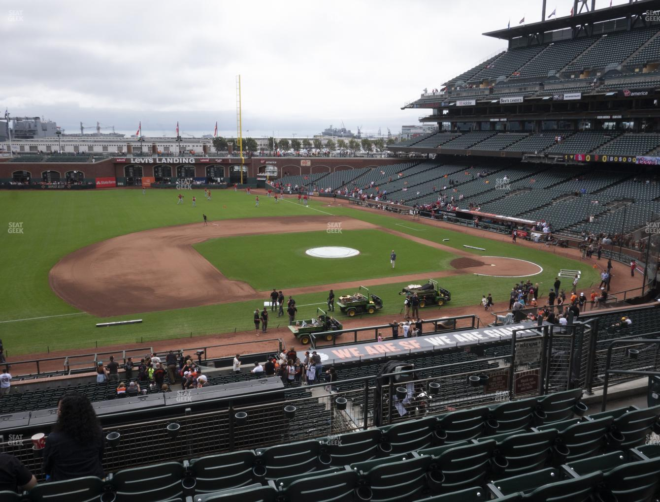 San Francisco Giants at Oracle Park Section 224 View