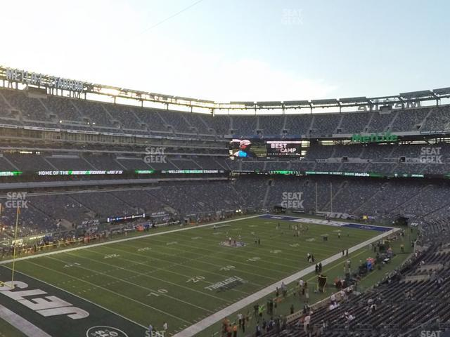 MetLife Stadium Section 220 A view