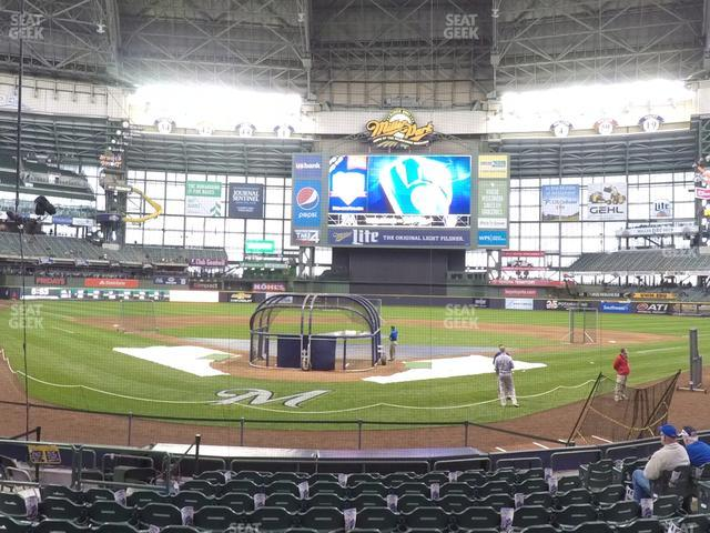 Miller Park Section 117 view