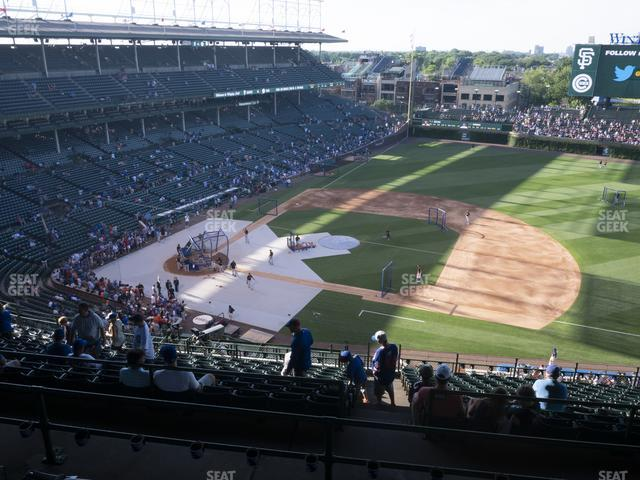 Wrigley Field 424 Right view