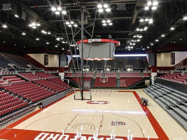 Maples Pavilion Section 7 view