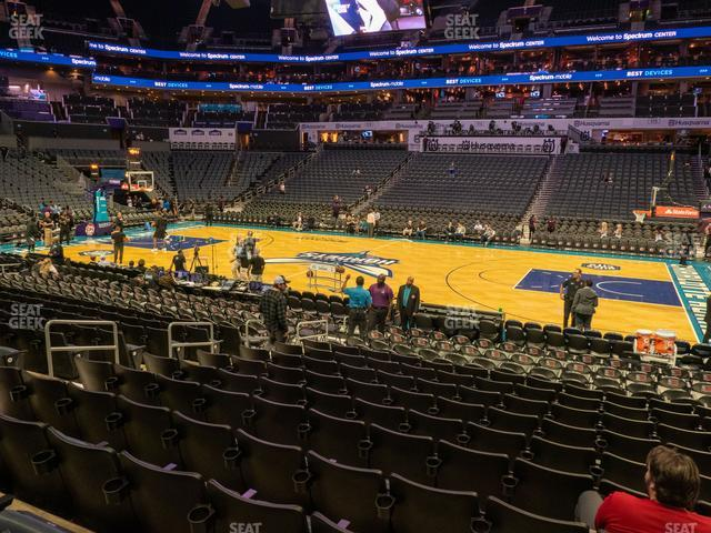 Spectrum Center Section 104 view