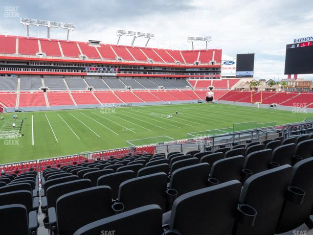 Raymond James Stadium Section 232 view