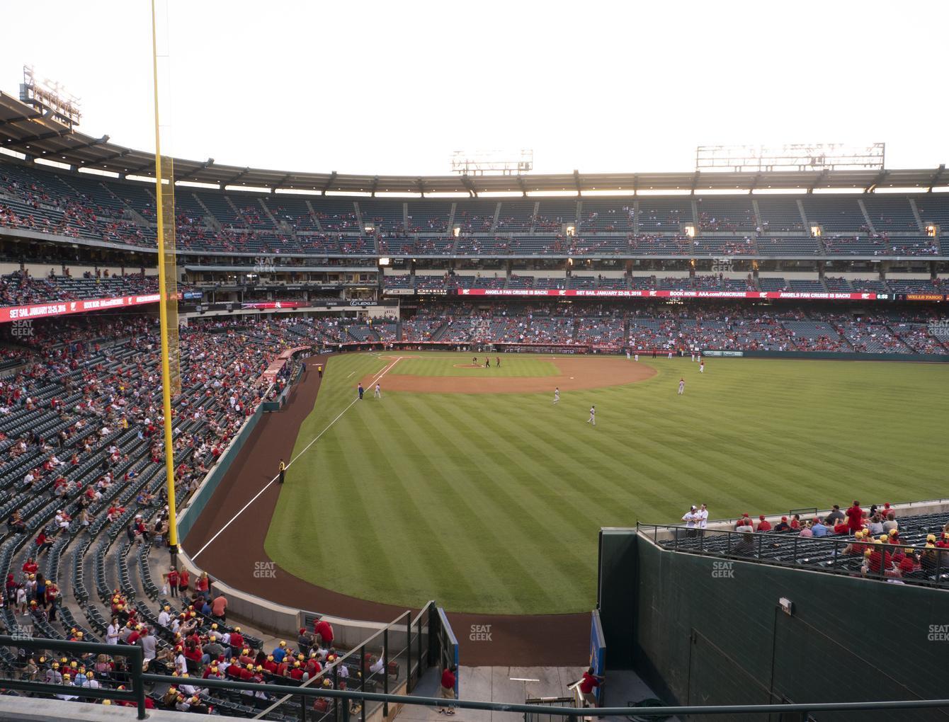 Angel Stadium Of Anaheim Section 242 Seat Views Seatgeek
