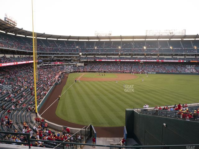 Angel Stadium of Anaheim Section 242 view
