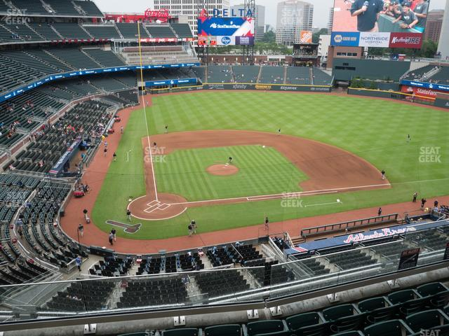SunTrust Park Section 323 view