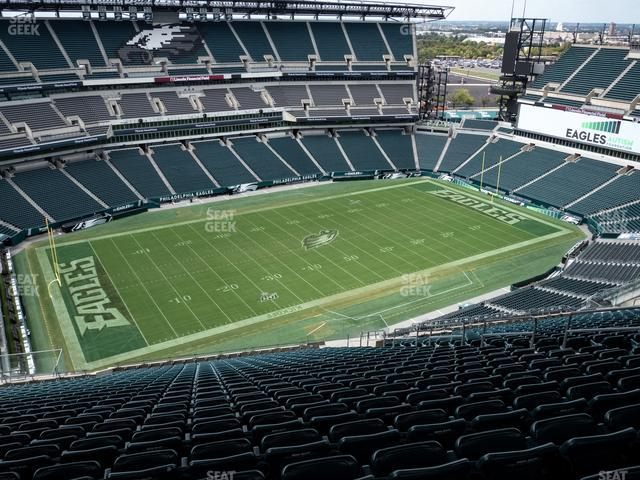 Lincoln Financial Field Section 221 view