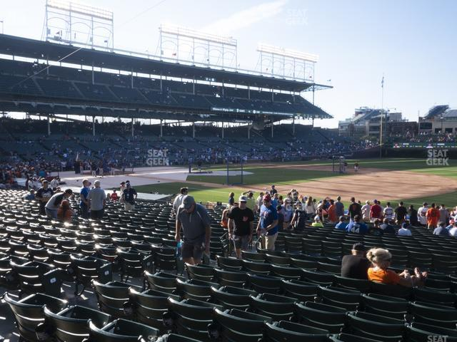 Wrigley Field Section 127 view