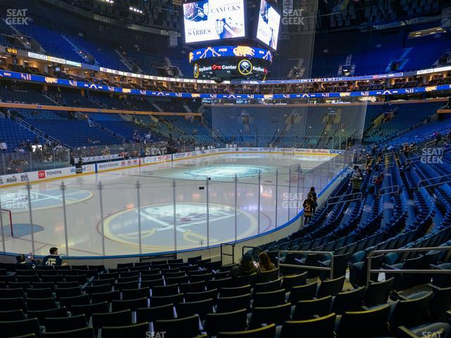KeyBank Center Section 121 view