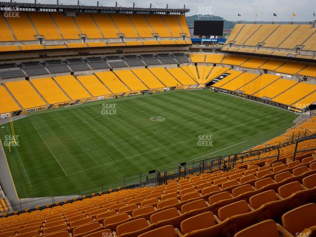 Heinz Field Section 506 view