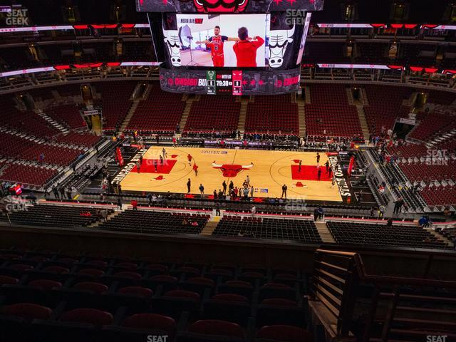 United Center Section 317 view