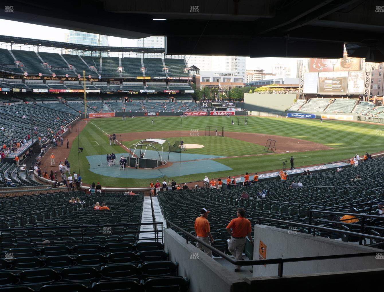Baltimore Orioles at Oriole Park at Camden Yards Section 31 View