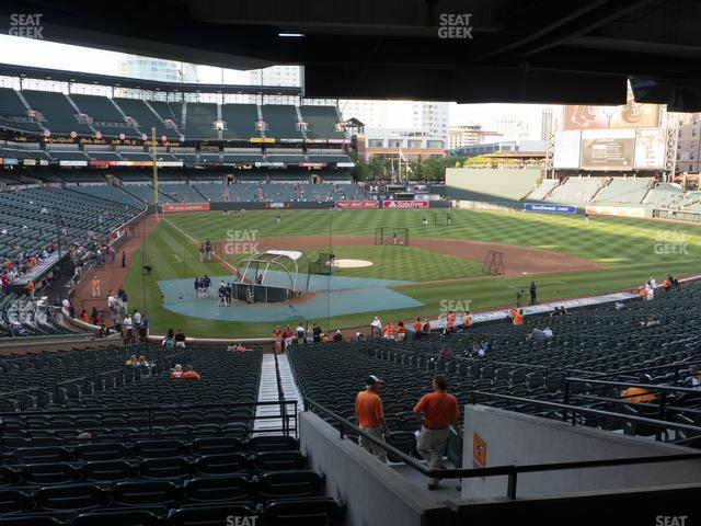 Oriole Park at Camden Yards Section 31 view