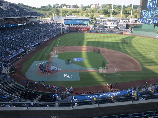 Kauffman Stadium Section 427 view