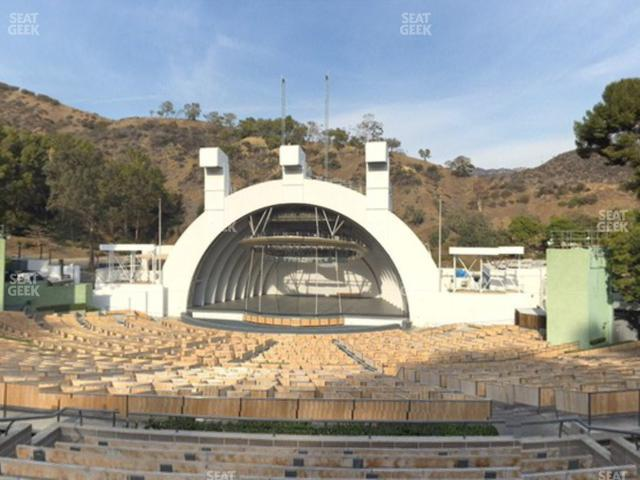 Hollywood Bowl Section G 2 view
