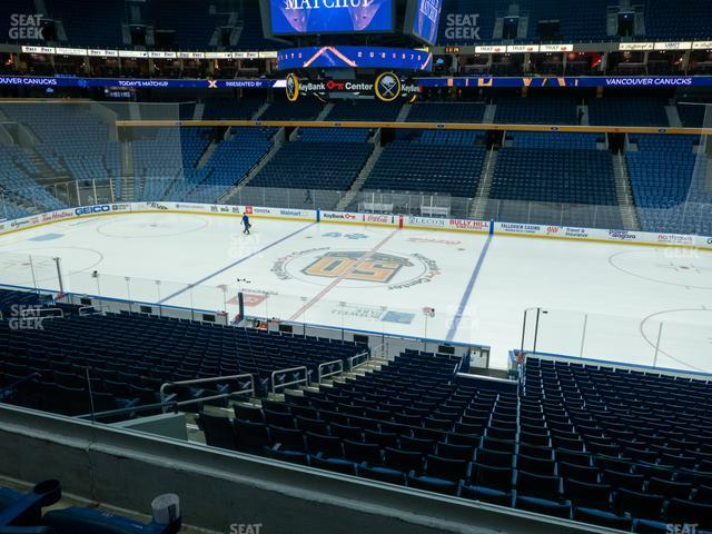 KeyBank Center Section 206 view
