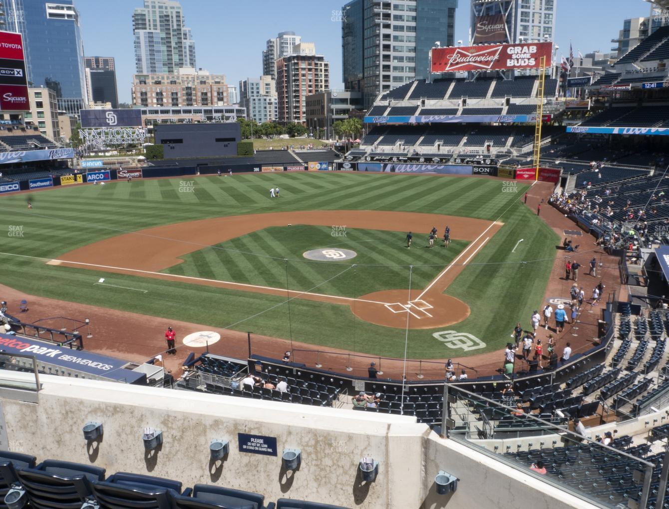 San Diego Padres at Petco Park Section 202 View