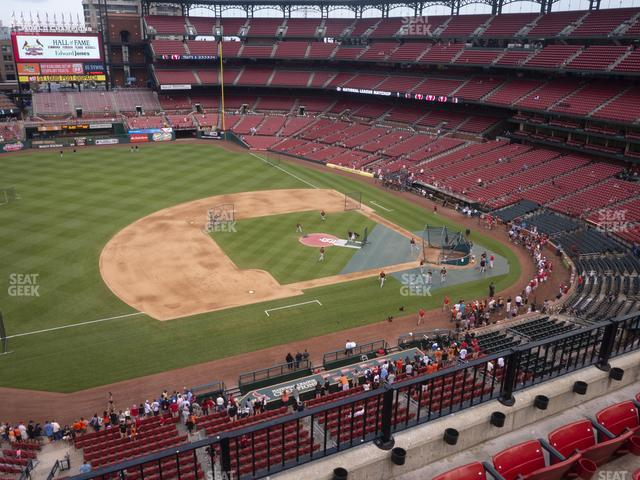 Busch Stadium Third Base Pavilion 358 view