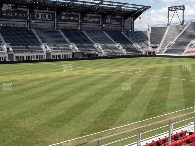 Audi Field Section Club 8 view