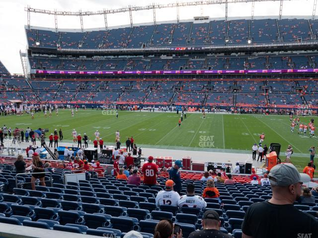 Empower Field at Mile High Section 122 view