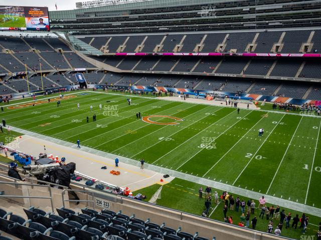 Soldier Field Section 333 view