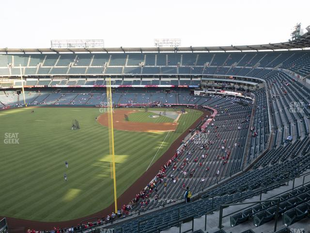 Angel Stadium of Anaheim Section 503 view