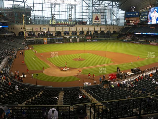 Minute Maid Park Section 221 view