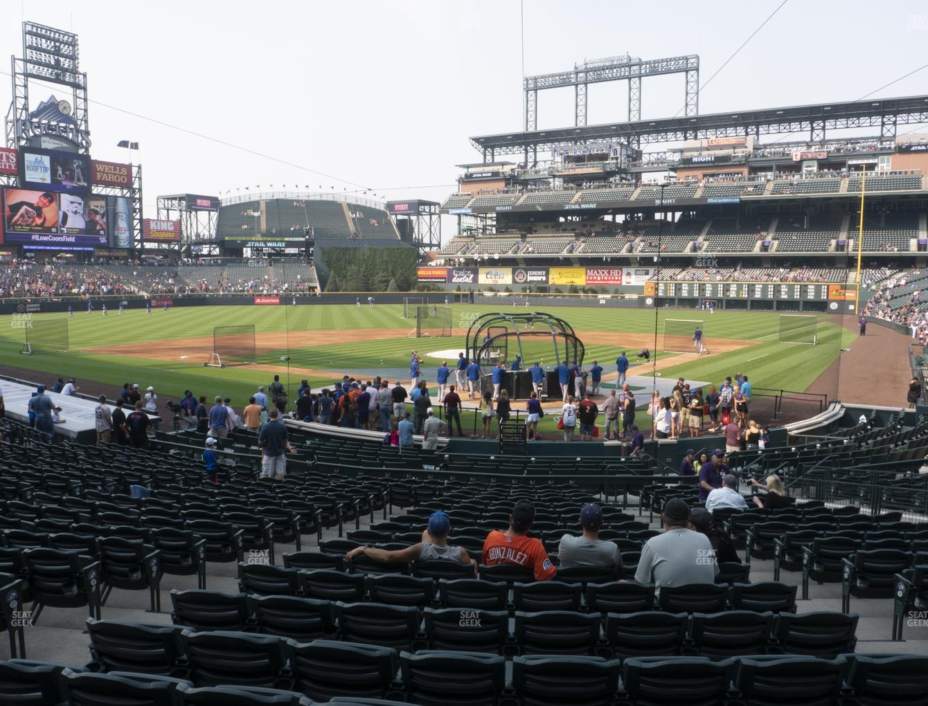 Coors Field Section 132 Seat Views Seatgeek