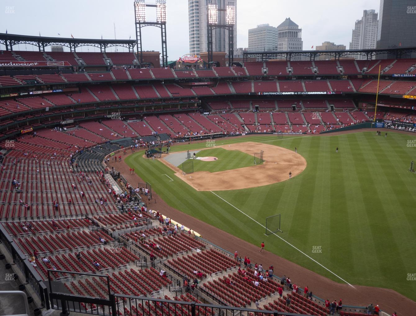 St. Louis Cardinals at Busch Stadium Right Field Pavilion 333 View