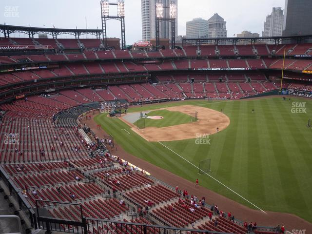 Busch Stadium Right Field Pavilion 333 view