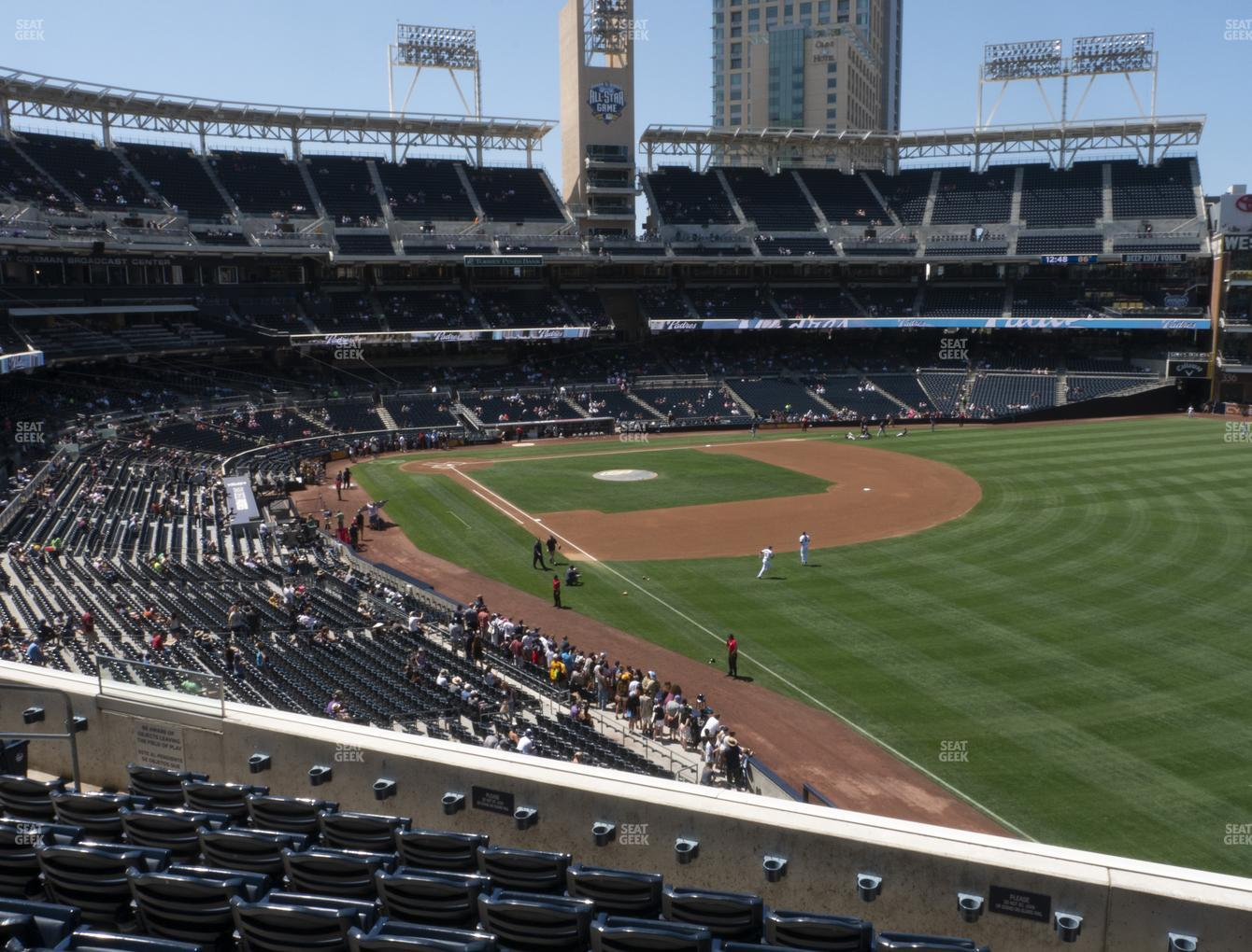 San Diego Padres at Petco Park Section 221 View