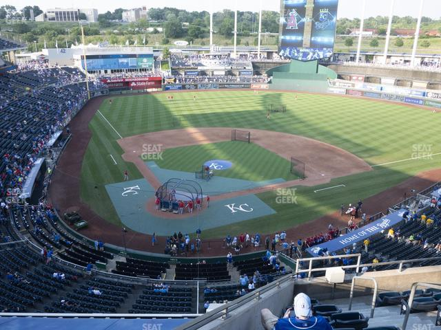 Kauffman Stadium Section 423 view