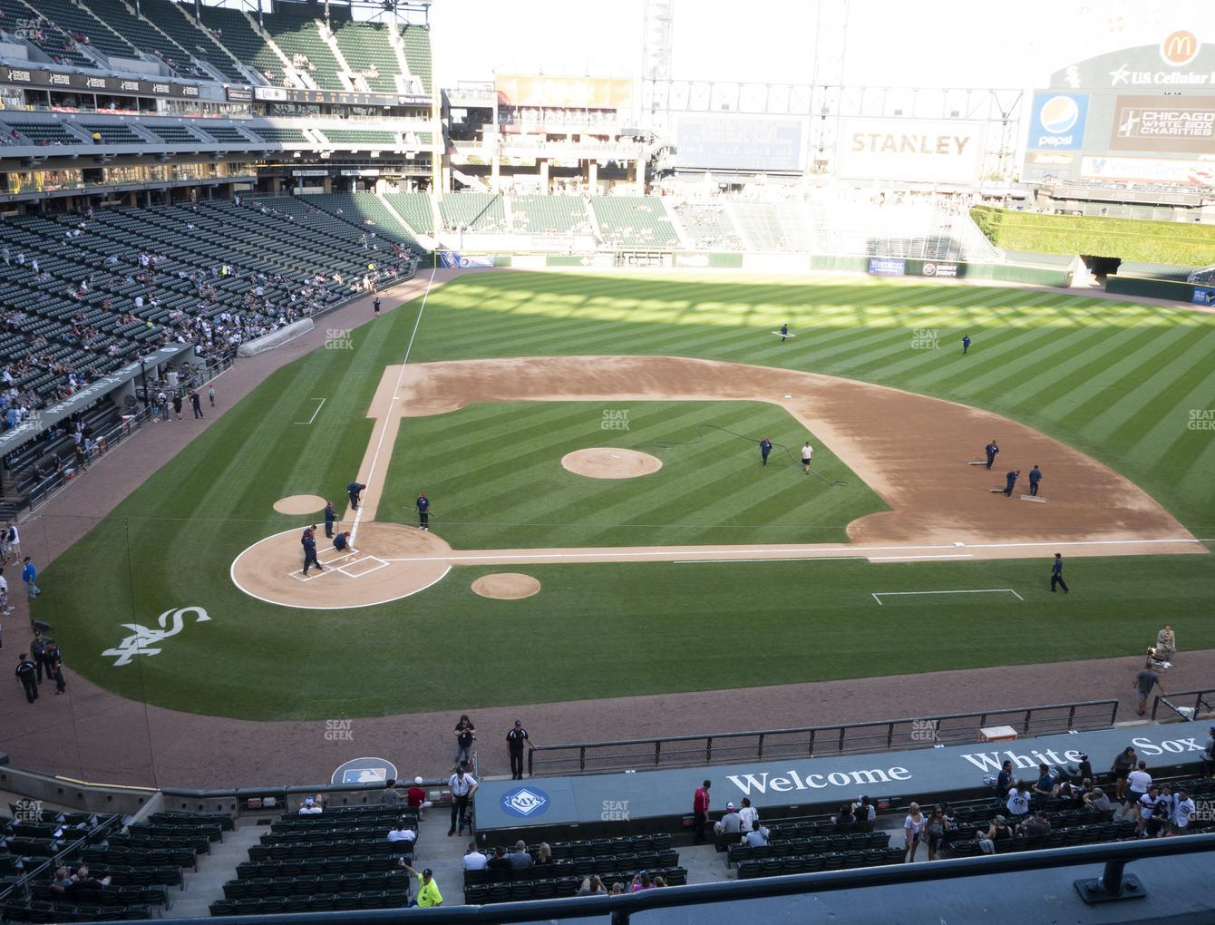 Chicago White Sox at Guaranteed Rate Field Section 328 View