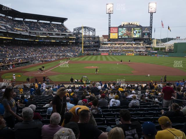PNC Park Section 112 view