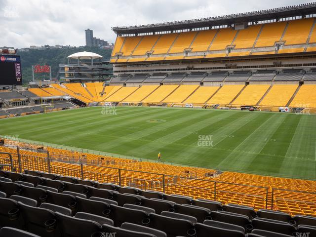 Heinz Field Section 214 view