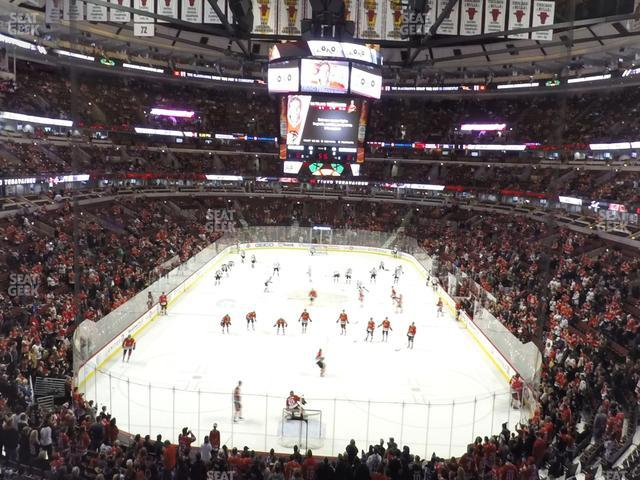 United Center Section 209 view