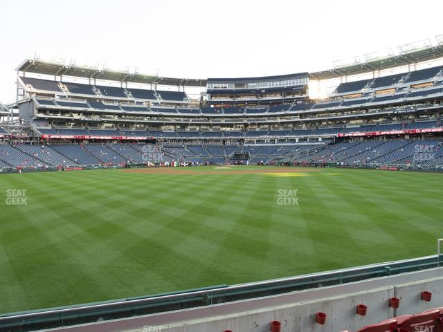 Nationals Park Section 100 view