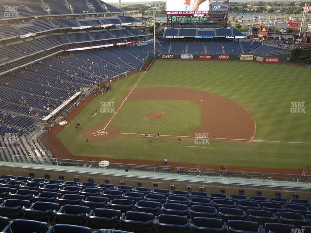 Citizens Bank Park Section 415 view