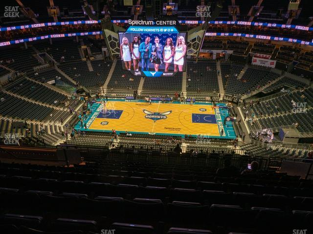Spectrum Center Section 225 view