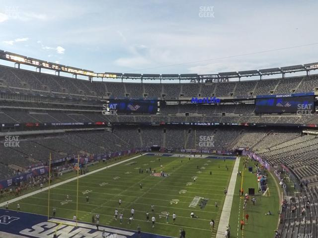 MetLife Stadium Section 223 view