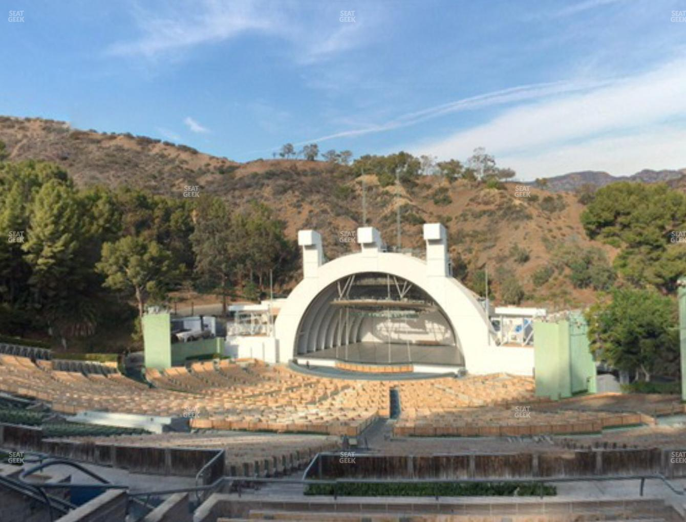 Concert at Hollywood Bowl Section L 1 View