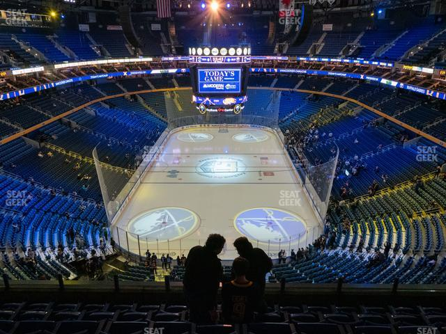 KeyBank Center Section 313 view