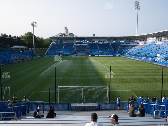 Saputo Stadium 132 GA Supporter view
