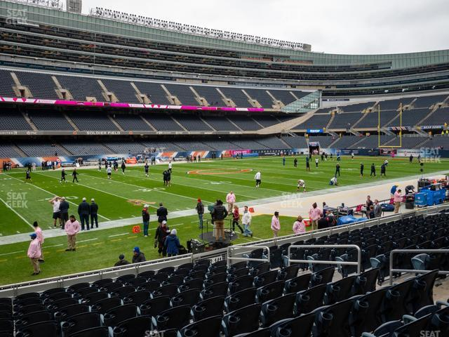 Soldier Field Section 142 view