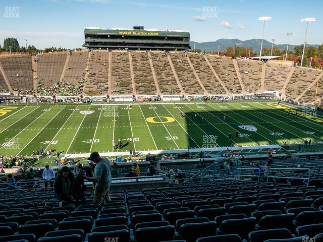Autzen Stadium Section 32 view